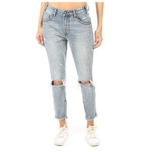 NWT One Teaspoon Storm Boy high waisted jeans